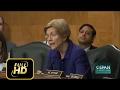 [Trump News]Elizabeth Warren DESTROYS Trumps SEC Nominee
