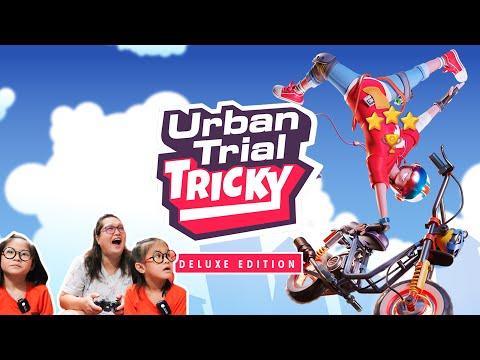 🎮 Urban Trial Tricky Deluxe Edition - Gameplay (2020) ลีลามอไซค์ผาดโผน มาดามหวง Action2Love  