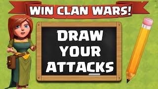 """Clash Of Clans """"WINNING CLAN WAR STRATEGY"""" 