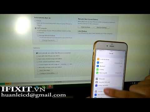 Hướng Dẩn Thoát ẩn Icloud Iphone, Ipad Bằng File Back Up