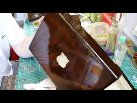 French Polishing Antique Boxes