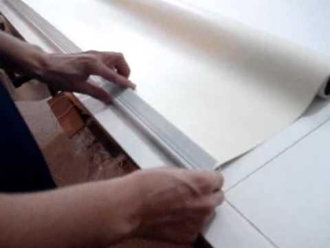 Instalaci n de perfil contrapeso de cortina roller 54 341 youtube - Persianas roller ...