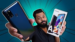 Samsung Galaxy A21s Unboxing & First Impressions ⚡⚡⚡ Exynos 850, 5000mAh Battery & More