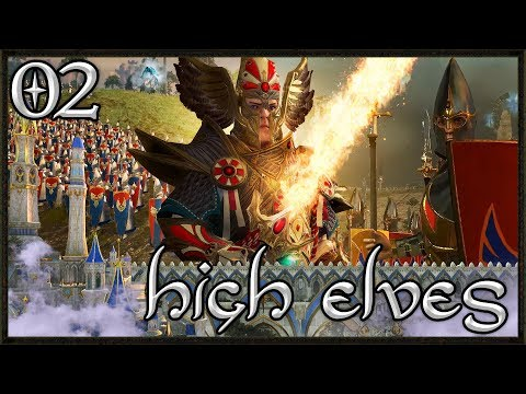 Siege Of High Elf Ritual City - Total War: Warhammer 2 Gameplay - High Elf Campaign #2