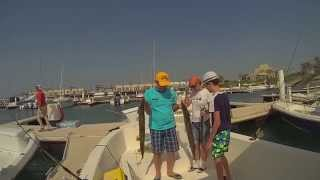 Рыбалка тролингом в Эмиратах