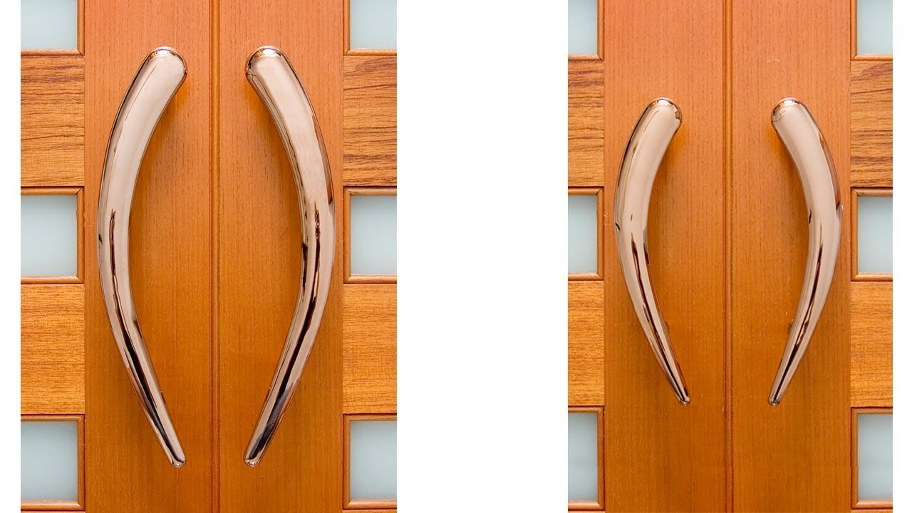 Copper Comma Front Door Handle Product Profile - YouTube