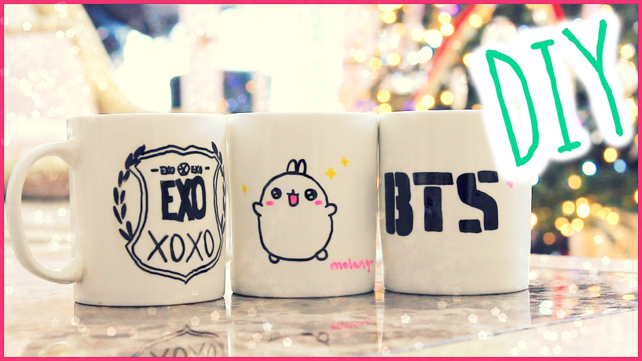 ❄︎Christmas Gift Idea: DIY Sharpie Mugs❄ - YouTube