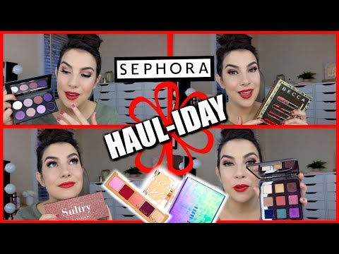 HOLIDAY PALETTES & SETS | Sephora Sale Haul