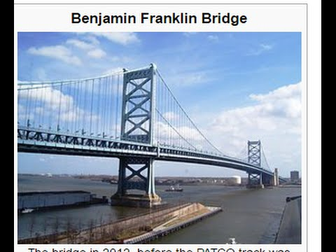Benjamin Franklin Bridge and it's connections to Teddy Bridgewater Colin Kaepernick Huskers Teen Wol
