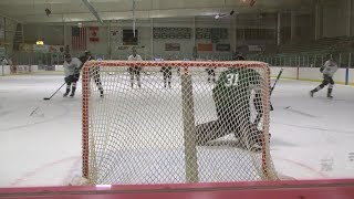 Alpena hockey's defense sparks the fire on the ice