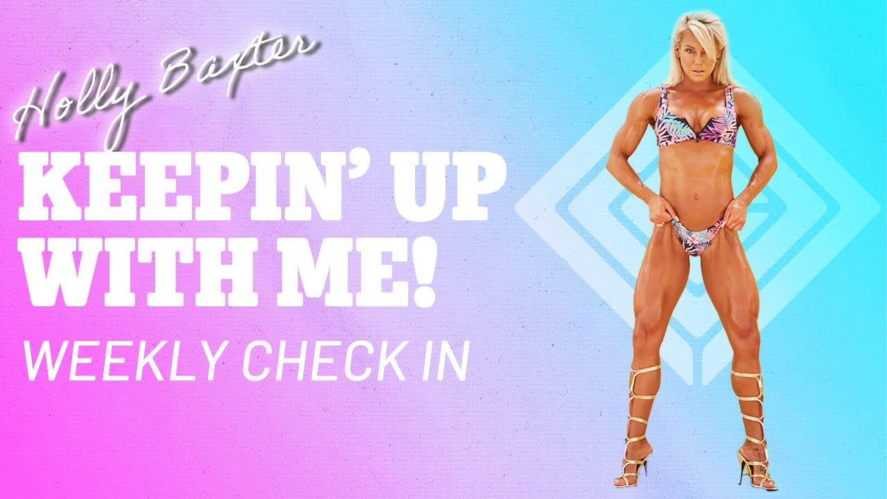 Keepin' Up with Me | Weekly Check In | Holly T. Baxter