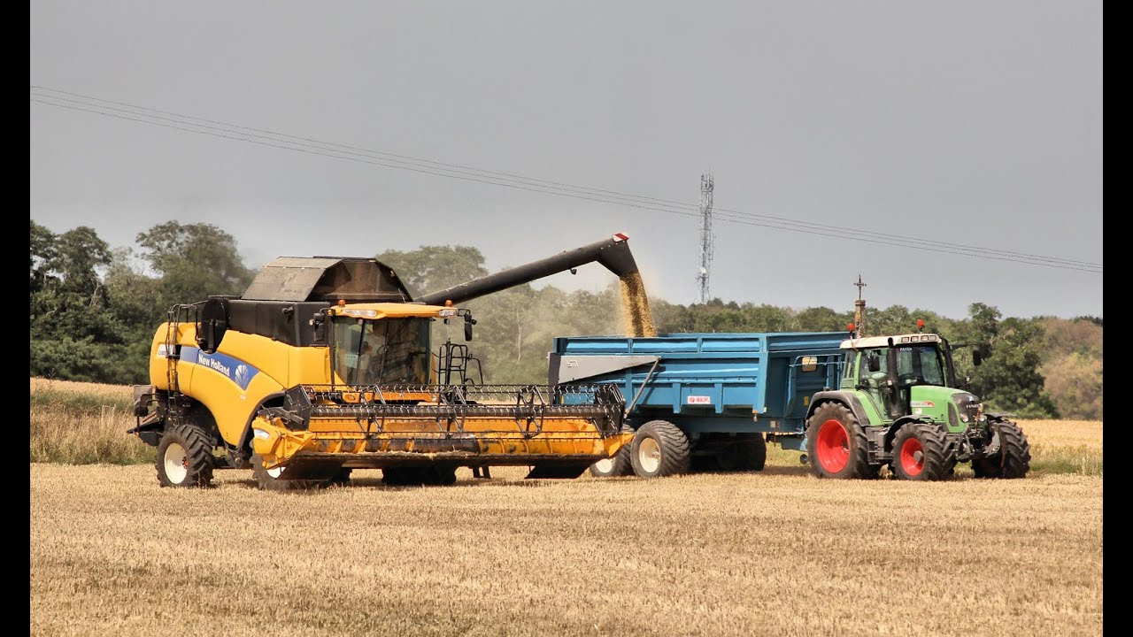 Moisson 2015 Newholland Cx8080 Hd Youtube