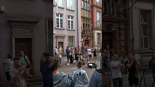 Polen - Sommer, Sonne und gute Laune   Mit der Menge feiern.... 🎈🌻 #shorts