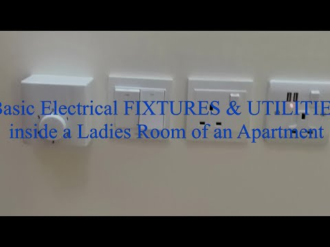 How to do Electrical Work for a Ladies Room or Sala of an Apartment