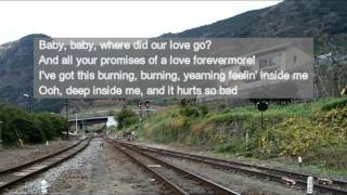"The Supremes ""Where Did Our Love Go"" with lyrics 64年にリリースされ..."