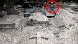 vuclip कब्रिस्तान का खौफनाक वीडियो | 5 Scary Graveyard Videos