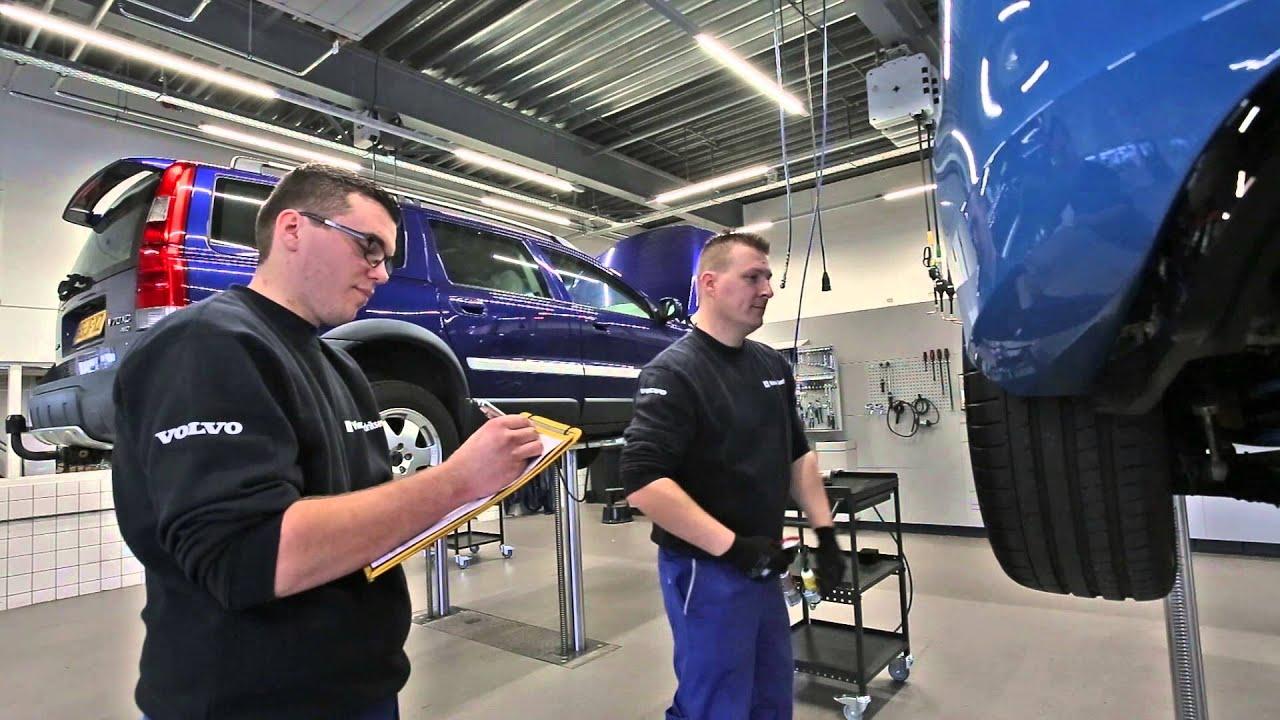 Volvo Personal Service VPS: Pitstop bij Harrie Arendsen! - YouTube