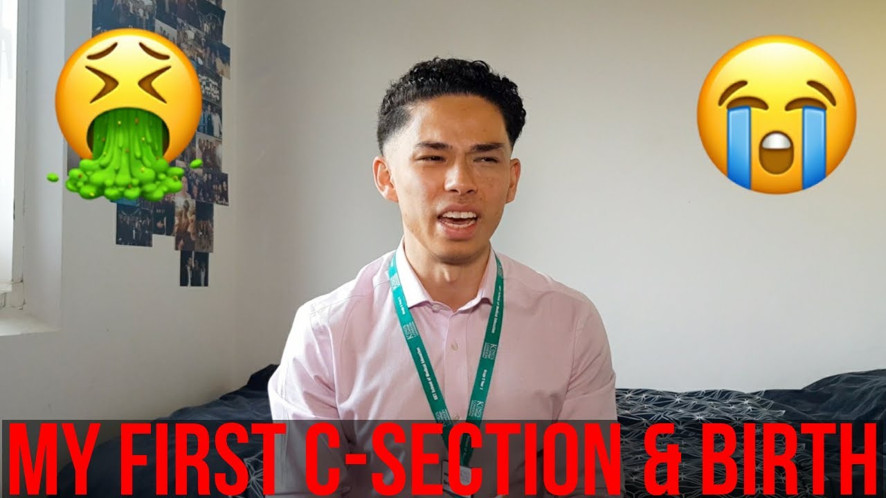 My First C-section & Birth | Medschool Diaries #1 - YouTube