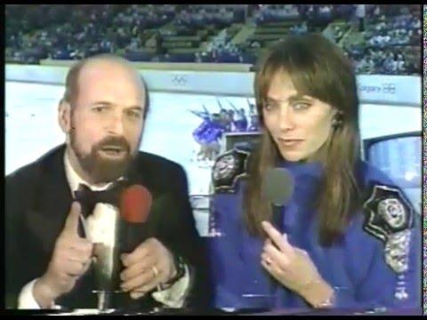 Olympics - 1988 Calgary - Speed Skating Mens 500m - USA Dan Jansen  imasportsphile.com