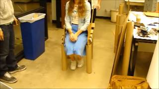 Lightest Cardboard Chair