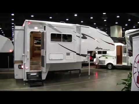 Travel Trailers For Sale In Oregon >> Chalet TS116 Triple Slide Truck Camper - YouTube