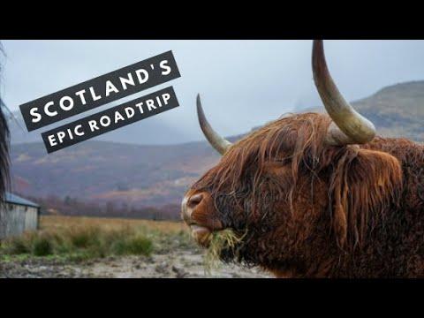 Edinburgh to Isle of Skye Road Trip