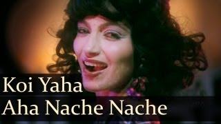 Koi Yahan Aha Nache Nache - Karan Razdan - Kalpana Ayyer - Disco Dancer - Bollywood Hit Songs