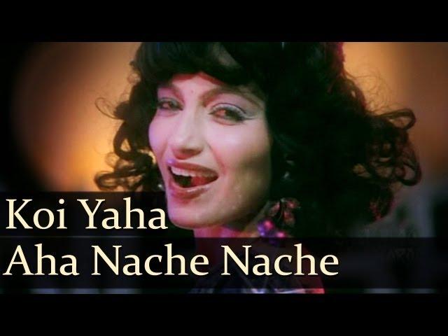 Koi Yahan Aha Nache Nache - Karan Razdan - Kalpana Iyer - Disco Dancer - Bollywood Hit Songs