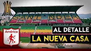 Así LUCE La NUEVA CASA De AMÉRICA DE CALI En COPA LIBERTADORES!! | Estadio Alfonso López AL DETALLE