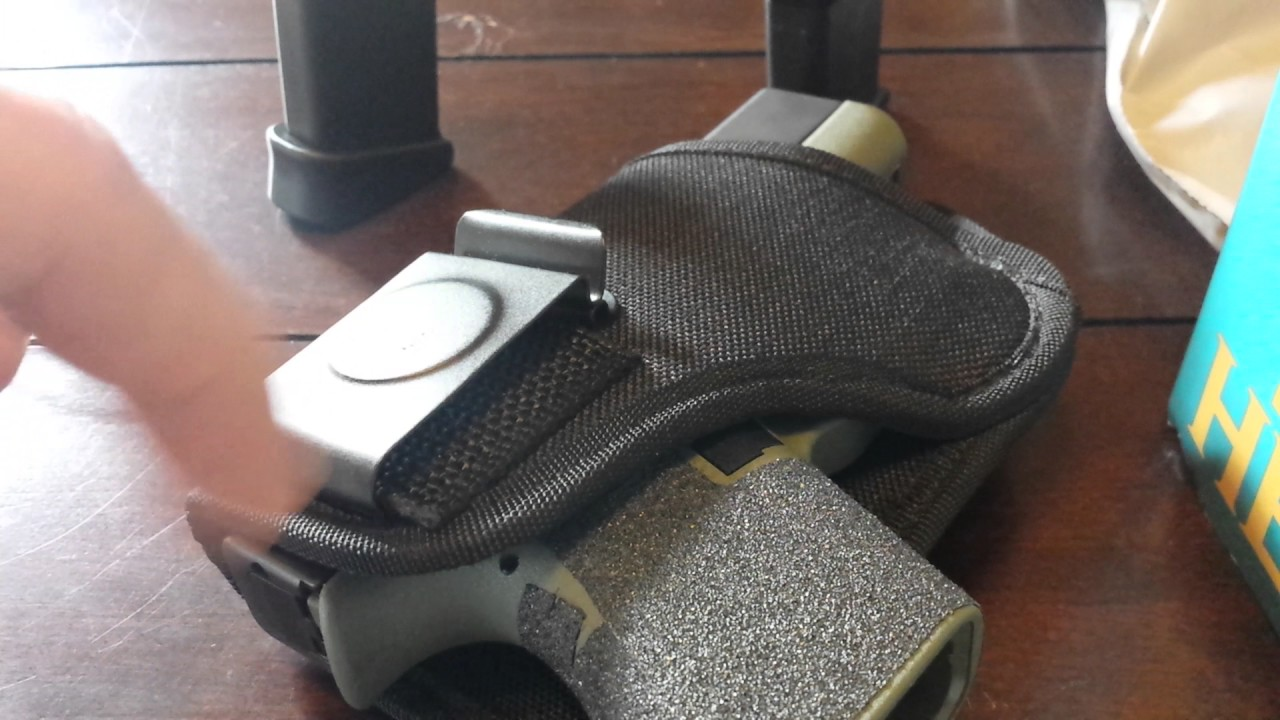 Deep Concealment BWB Active Pro Gear 44-M Holster Glock 43 Review Part 1