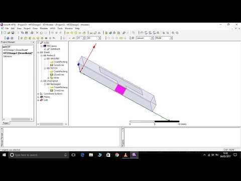 HFSSS- MICROSTRIP PATCH ANTENNA DESIGN PART-1(basics of antenna design using HFSS software)