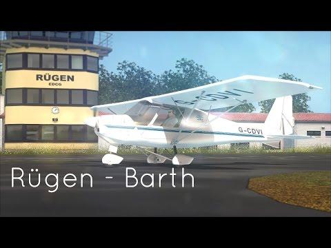 FSX SE: FTX Rügen to FTX Barth with Sim720 Ikarus C-42 FULL FLIGHT!