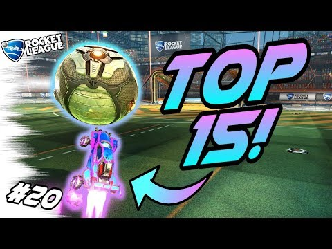 Rocket League GOALS/FREESTYLES #20! - Top 15 Funny Moments, Best Goals, (Montage Plays)