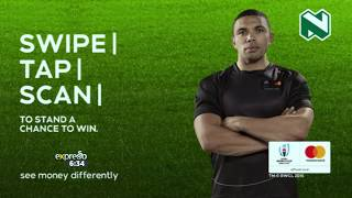 Win Tickets to thee 2019 Rugby World Cup with Nedbank and Mastercard