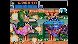 1988 [60fps] Wonder Boy III Monster Lair 784060pts ALL