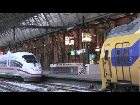 Amsterdam Centraal Railway Station, Amsterdam, Holland - 28th December, 2012