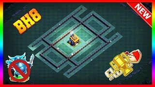 Clash Of Clans Best Builder Hall 8 (BH8) Base | You Can Push Your Trophy Easily [Speed Build]