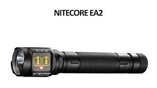 Ліхтар Nitecore EA2 - відео інструкція. Повний огляд.