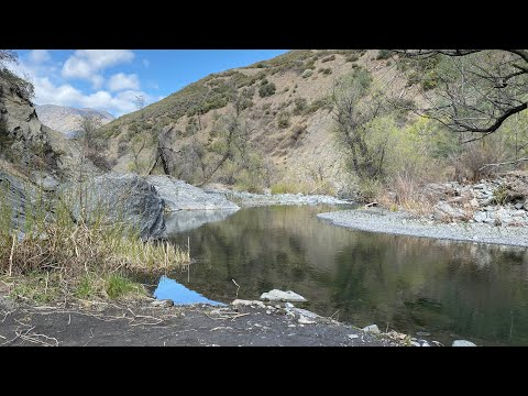 Scouting Trout Fishing Locations In Mendocino National Forest