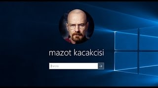 Windows 10'da Bilgisayara Şifre (Parola) Koyma