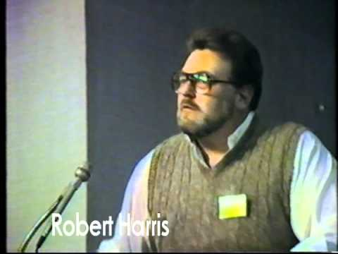 1985 Greenlake - Baha'i   Robert Harris with George Davis si
