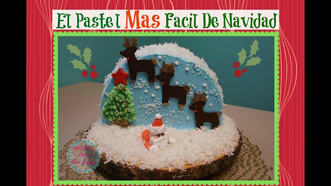 Torta mas sencilla para Navidad - Acomerpe.com
