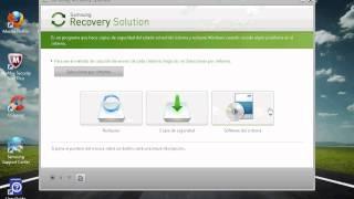 Como utilizar samsung recovery
