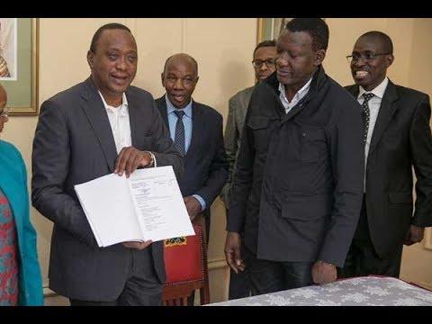President Uhuru Kenyatta responds to Raila Odinga's challenge to his re-election