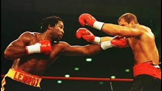 Lennox Lewis vs Tommy Morrison - Highlights (Lewis Schools, KNOCKS OUT Morrison)