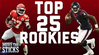 Top 25 Rookies of the 2017 Season... So Far | Move the Sticks | NFL