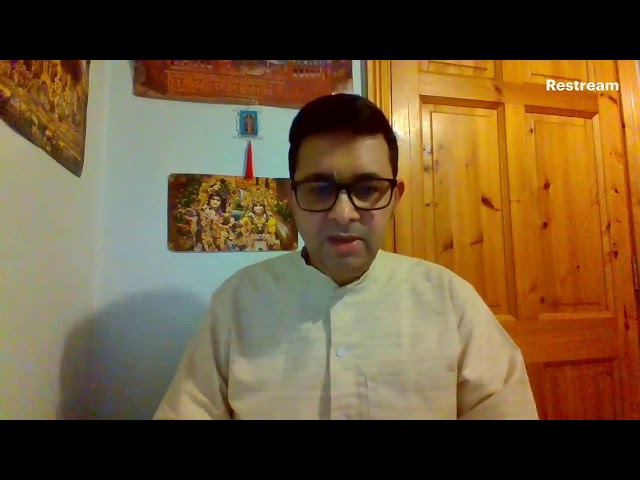 Kovidas (Wise) Reflections on COVID-19: Sunday Online Talk: Sanatan Govinda Das