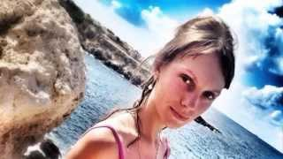 Кипр 2019.Красивая Девушка в Купальнике на Пляже. Beautiful Girl in a Bathing Suit on the Beach. Девочка Купальники