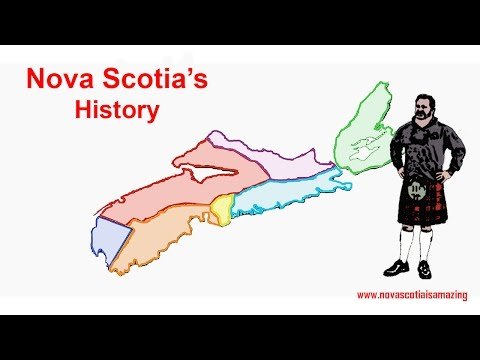 History of Nova Scotia