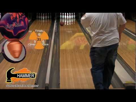Hammer TNBA Rhythm bowling ball by Joe Stillman, BuddiesProShop.com